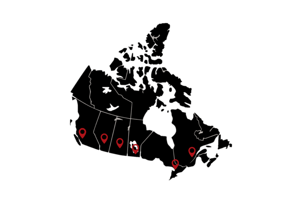 Canadian Owned Offices across Canada